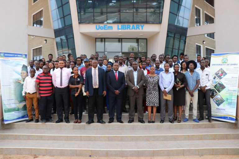 KLISC Fundraising and Advocacy Committee Holds a Knowledge Ambassadors Workshop at the University of Embu